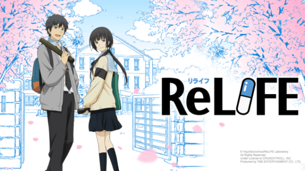 Best romance anime relife