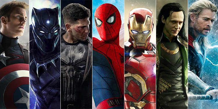 Popular Marvel Characters 750x375