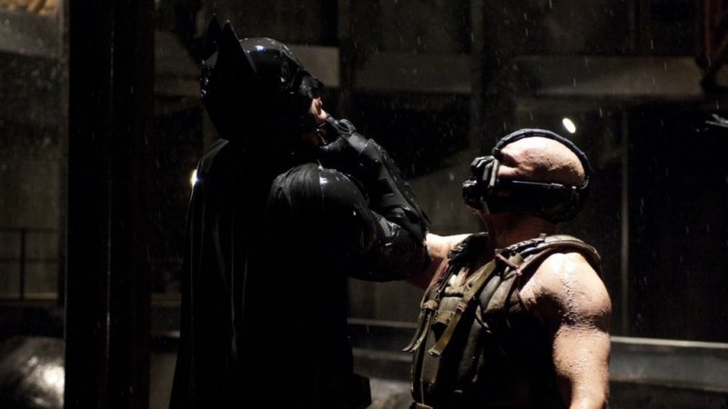 Batman is on the edge in action movie