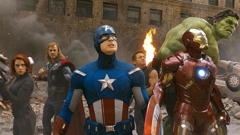 The Avengers action movie