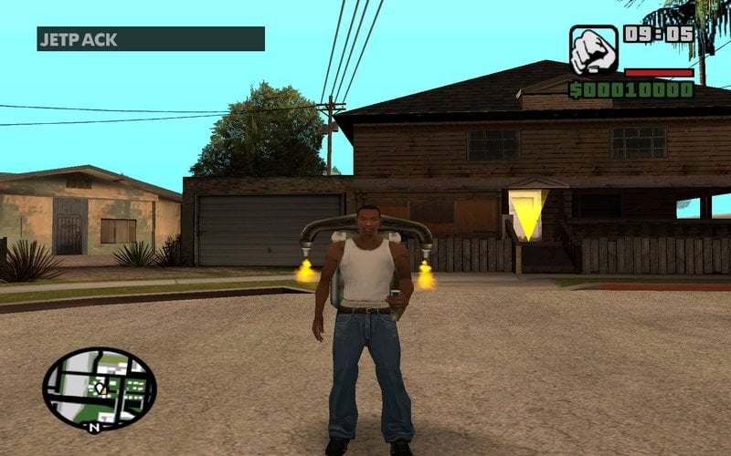 Gta San Andreas Cheats 1