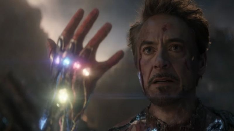 Avengers Endgame Iron Man Death Scenes