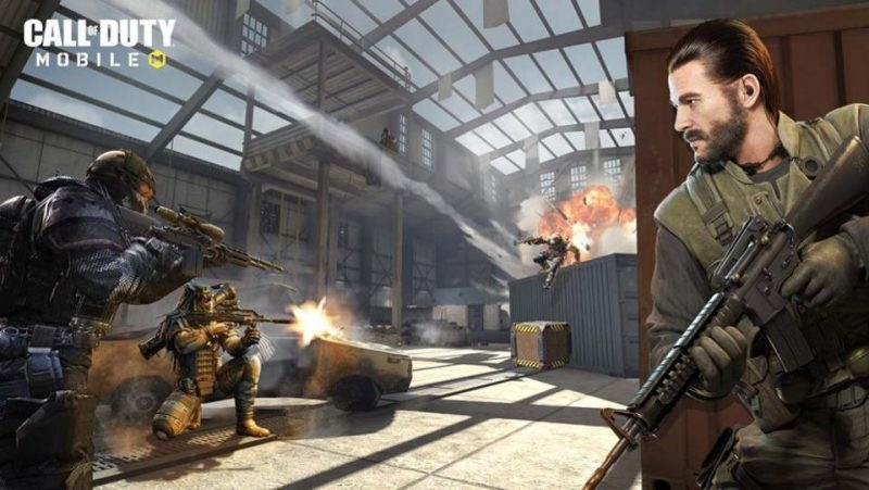 Call Of Duty Mobile Take Cover