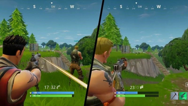 How To Split Screen In Fortnite