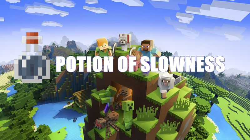 Potion Of Slowness Minecraft