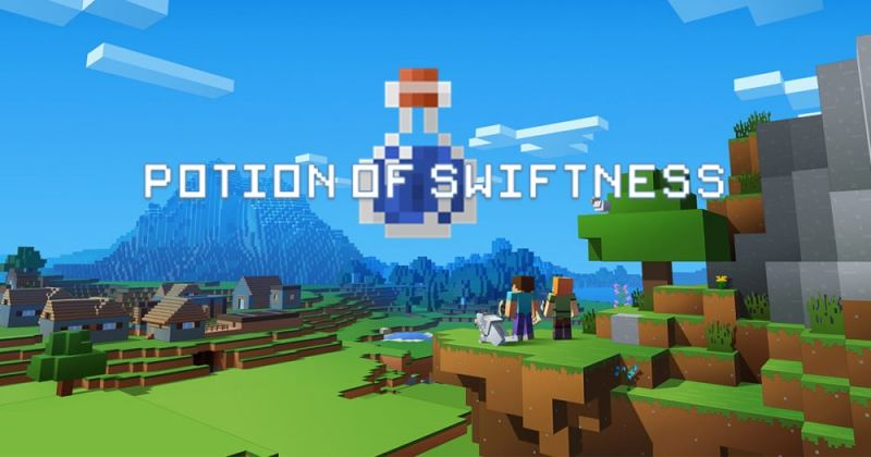 How to Make a Potion of Swiftness in Minecraft