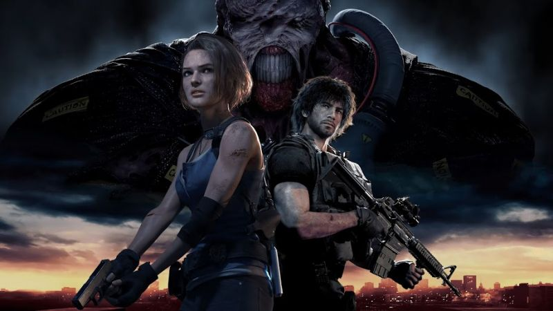 Resident Evil 3 Remake Gameplay