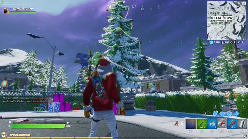 Where To Find Holiday Tree Locations In Fortnite