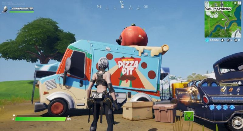 Food Truck Locations In Fortnite
