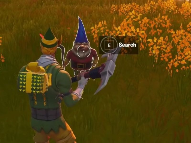 Hidden Fortnite Gnome Location Guide