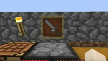 How To Make An Item Frame Minecraft