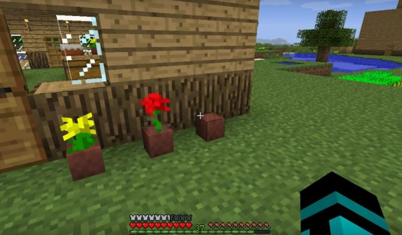 How To Make Flower Pot Minecraft