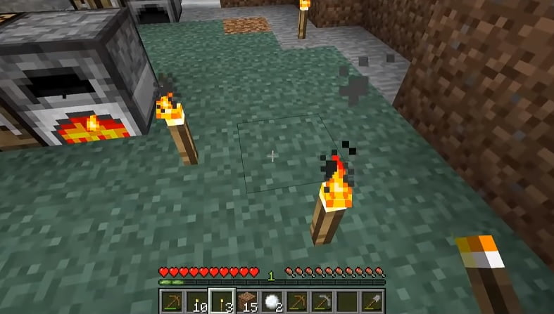 How To Make Torch Minecraft