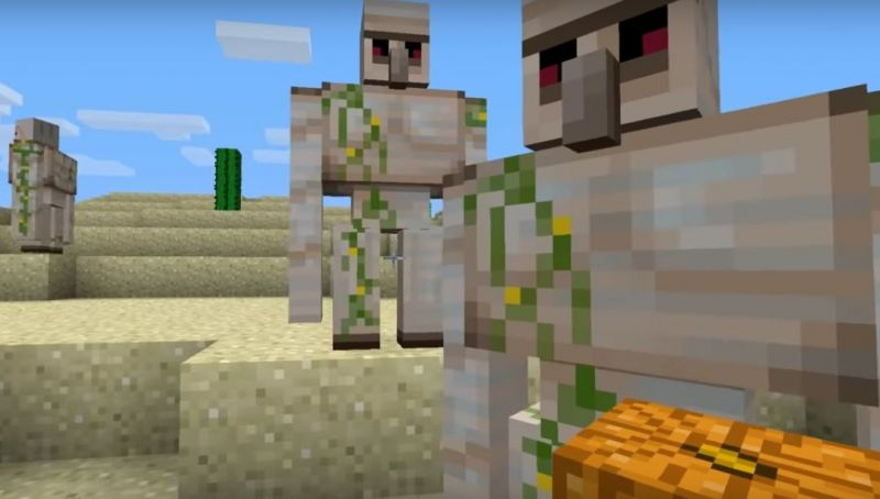 How To Make Iron Golem Minecraft