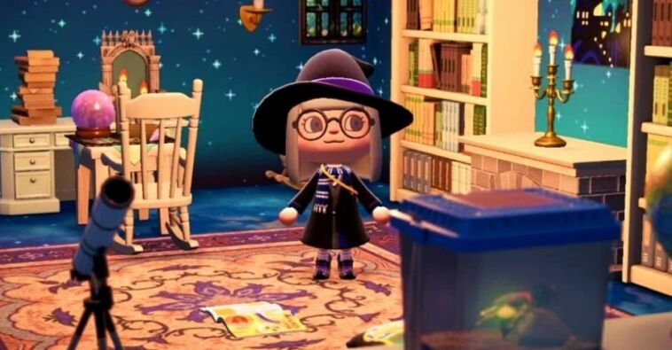 Animal Crossing Harry Potter Room Designs