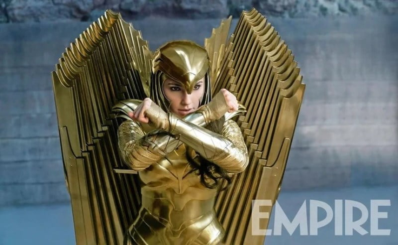 Wonder Woman 1984 Gold Wings Amor1