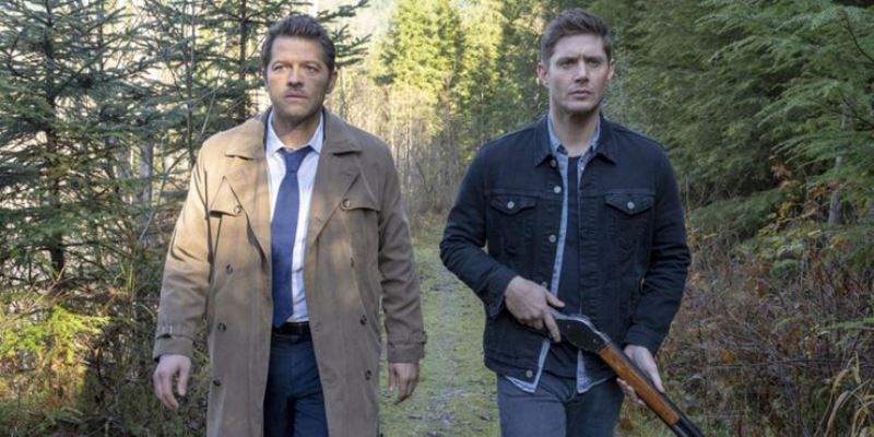 Cas And Dean Supernatural Cropped