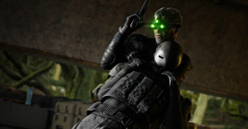Ghost Recon Splinter Cell Sam Fisher