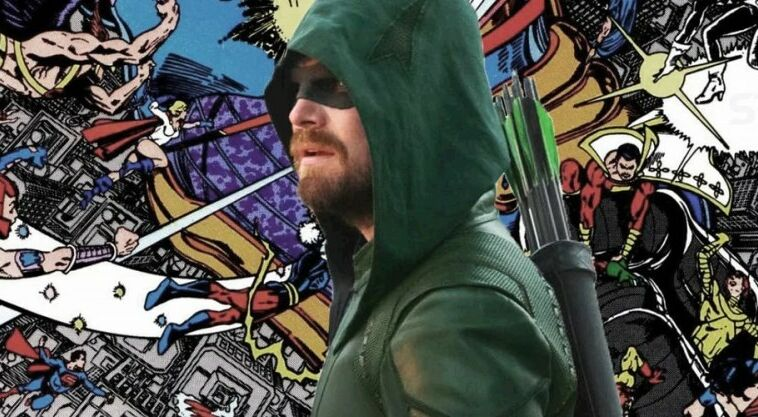 Green Arrow Death Crisis On Infinite Earths~1