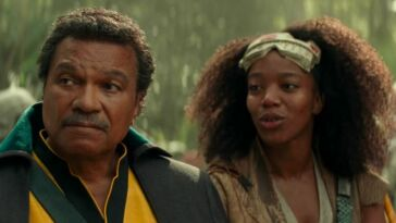 Lando Calrissian And Jannah In Star Wars The Rise Of Skywalker