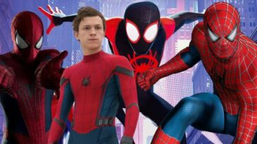 Spider Verse Holland Maguire Garfield Sr