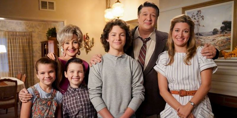 Young Sheldon Whole Family