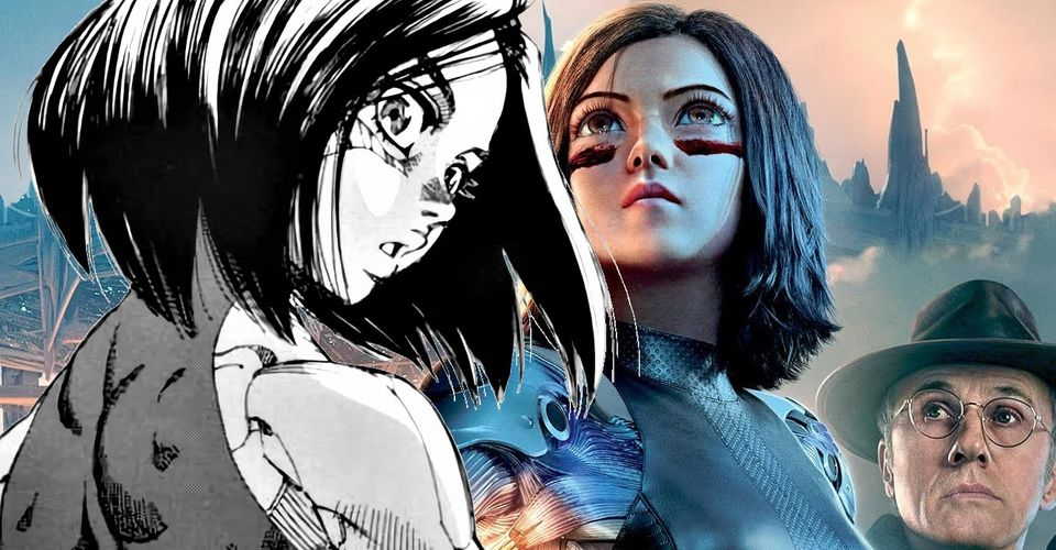 Alita Battle Angel Movie And Comic Book