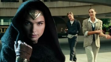 Chris Pine As Steve Trevor And Gal Gadot As Diana Prince In Wonder Woman 1984