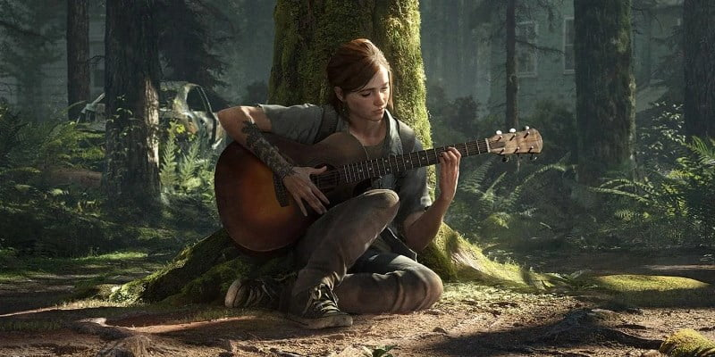Ellie The Last Of Us Part 2 Dynamic Theme Cover1