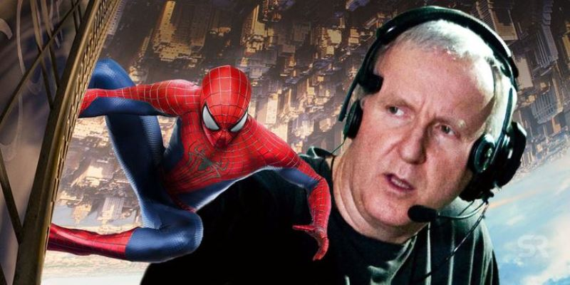 James Cameron Spider Man Movie