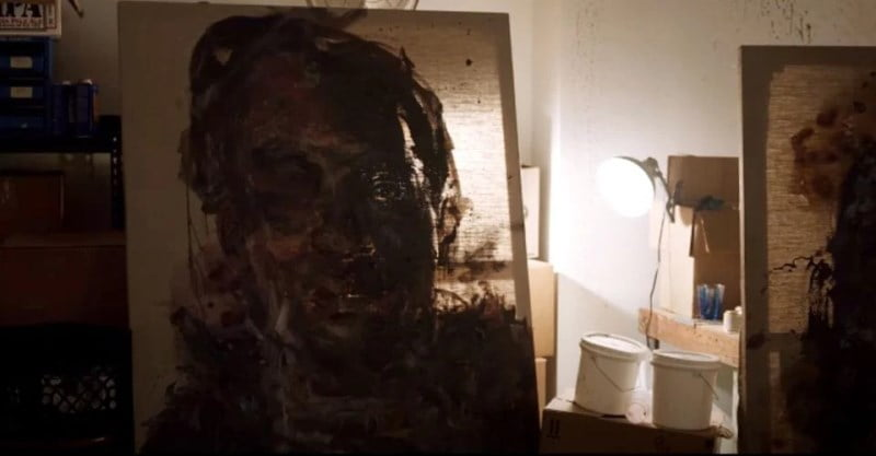 Painting Of Tony Todd In Candyman Brighter