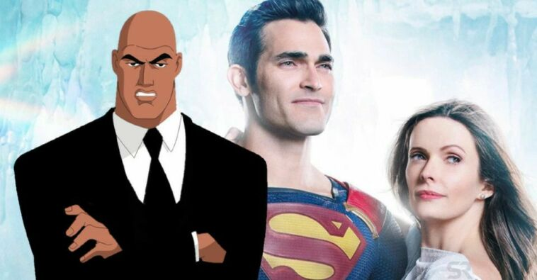 Tyler Hoechlin As Clark Kent Elizabeth Tulloch As Lois Lane Superman And Lois Lex Luthor Arrowverse