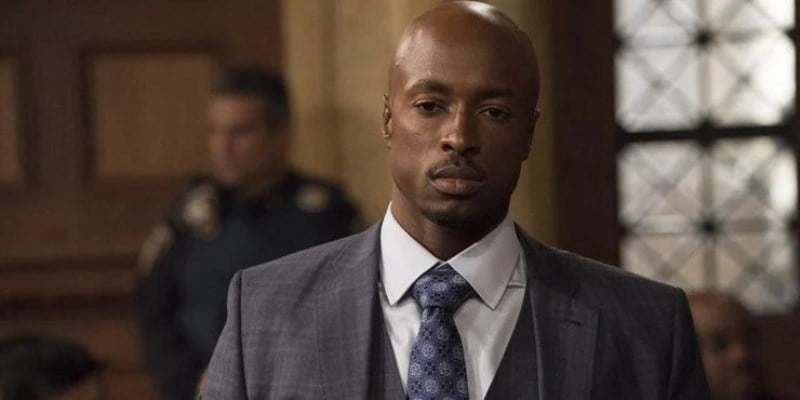 Wol Parks As Markeevious Ryan In Law Order Special Victims Unit
