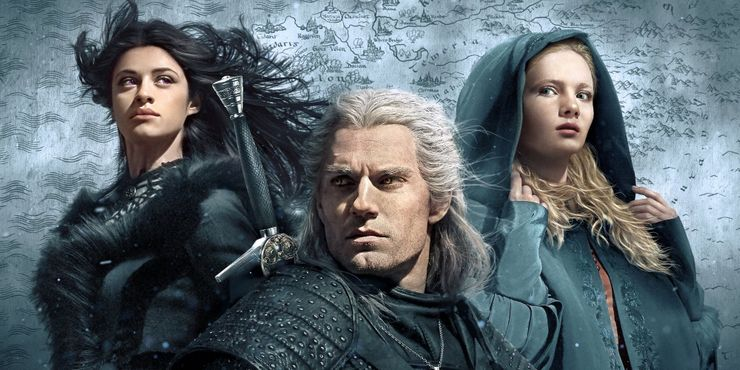 Yennefer Geralt And Ciri Star In The Witcher