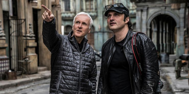 Robert Rodriguez James Cameron Alita