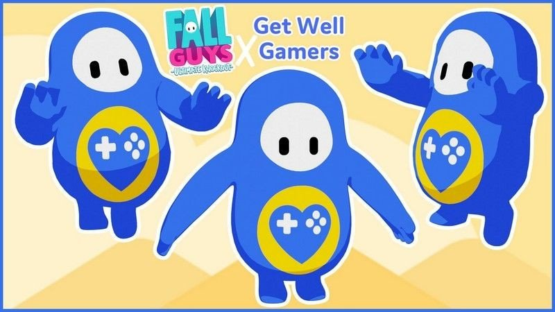 Get Well Gamers Fall Guys Skin
