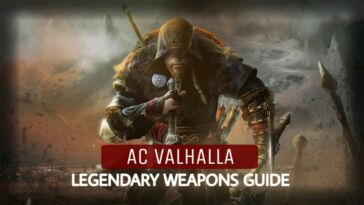 Ac Valhalla Legendary Weapons