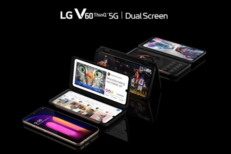 Best 5G Smartphone in 2020, LG V60 Thinq 5G