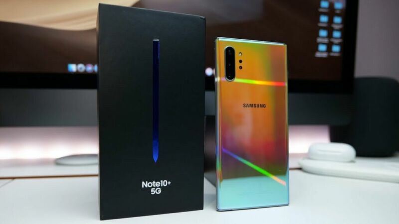 Best 5G Smartphone in 2020, Samsung Galaxy Note 10+ 5G