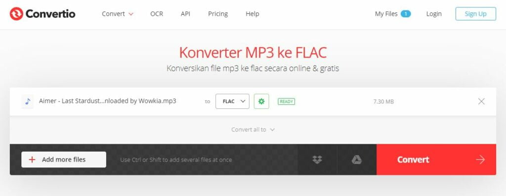 Illustration How to Convert MP3 to FLAC 3