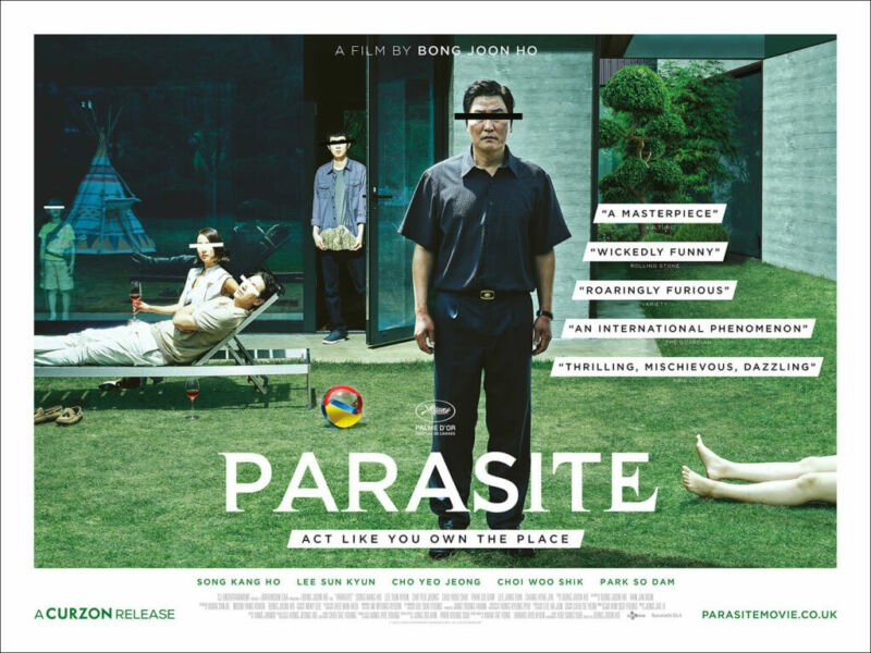 Parasite Korean movie recommendation