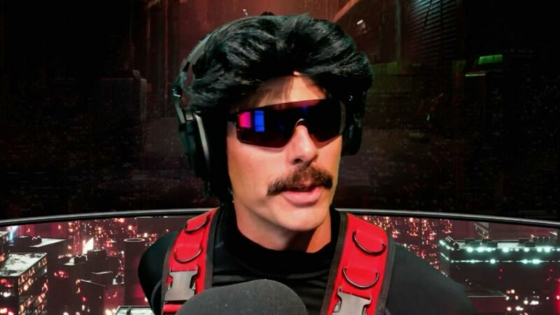 Dr Disrespect and Twitch
