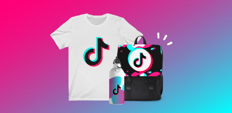 How To Get Money from TikTok, Selling Merchandise