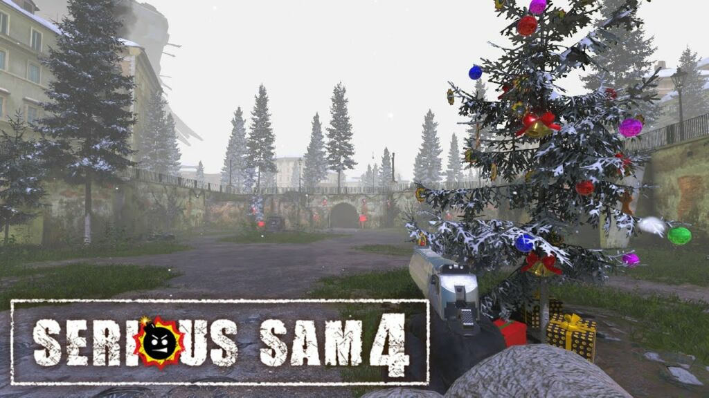 Serious Sam 4 Game Add Update Christmas Event