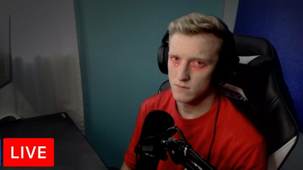 Tfue Sad Because he Got Swatting