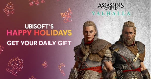 Ubisoft Happy Holidays