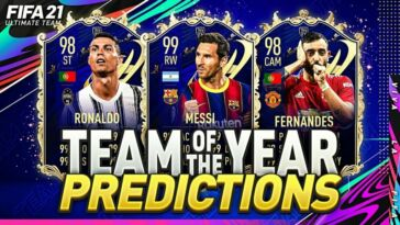 Fifa 21 Team Of The Year Event Begins