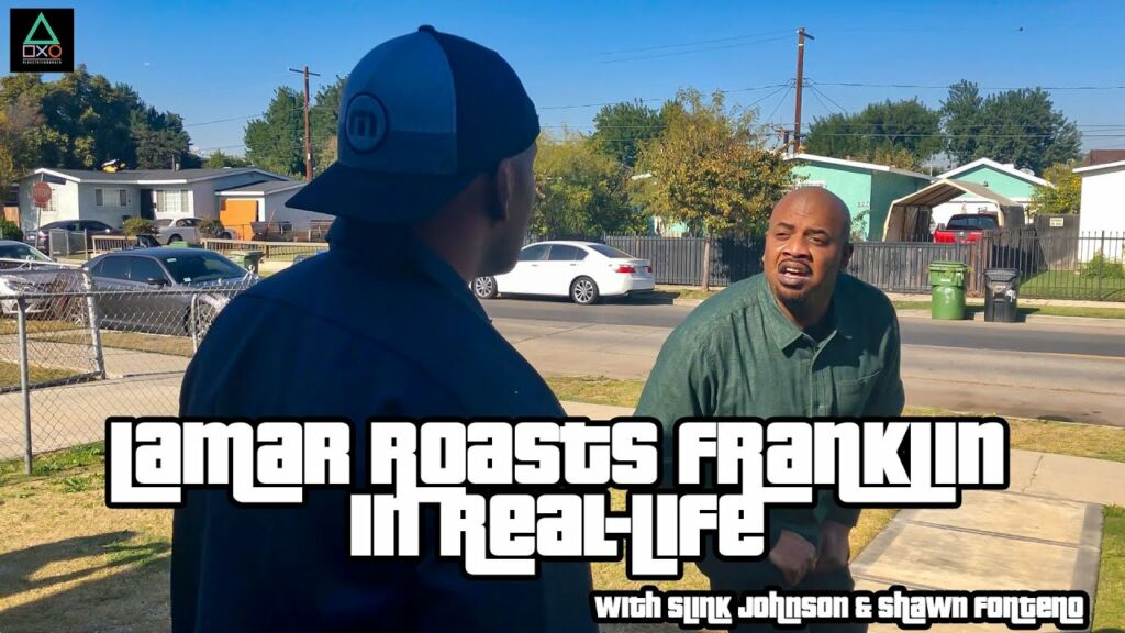 Grand Theft Auto 5 Actor: Lamar Roasts Franklin in Real Life