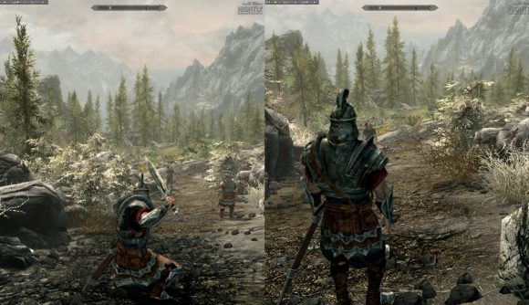 Skyrim Multiplayer With Split Screen