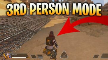Third-Person-Perspective on Apex Legends